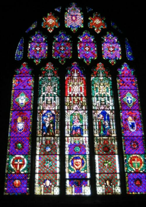 Thompson Glass Company specializing in stained and leaded glass windows for churches
